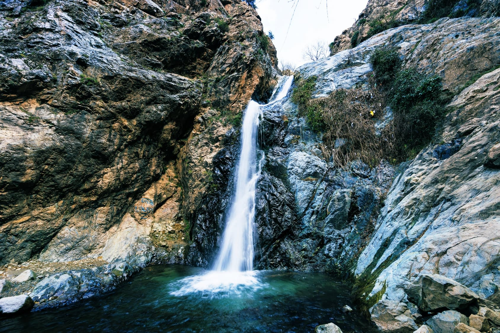 A waterfall in the Ourika valley area near Marrakech, Travel Tamegroute, Travel Tamgroute, original Morocco holiday