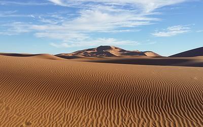 Tinfou camp: Quick impressions of desert