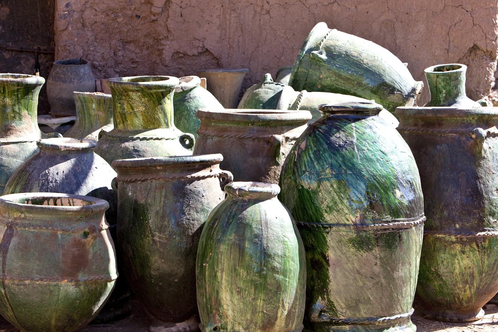 Keramik Tamegroute Pottery workshop