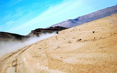 Quad riding in Agafay desert